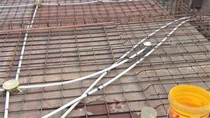 Electric Wiring Of Slab  Roof