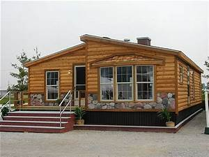 Double Wide Log Mobile Home Fleetwood Double Wide Mobile