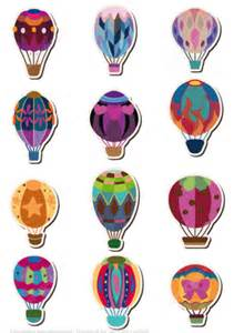 Hot Air Balloon Pattern Printable Free