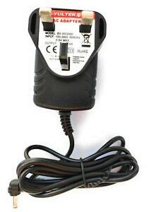Replacement for 6V AC-DC Adaptor Power Supply for Campark