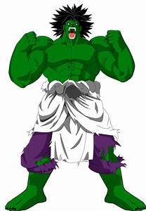 Hulk Broly by EliteSaiyanWarrior on DeviantArt