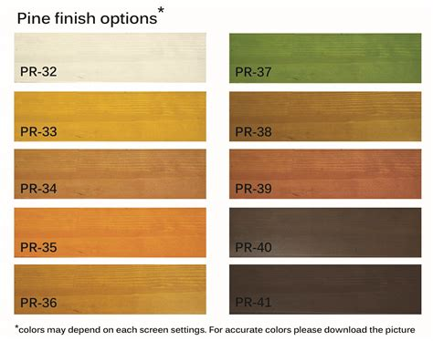 pine color wood woodwork pine wood stain colors pdf plans