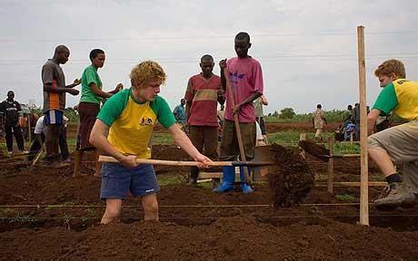 tom payne sherborne sherborne schoolboys dig deep to build hall as part of