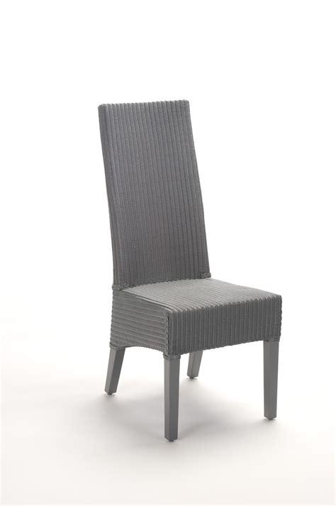 dossier de chaise chaise haut dossier en loom brin d 39 ouest