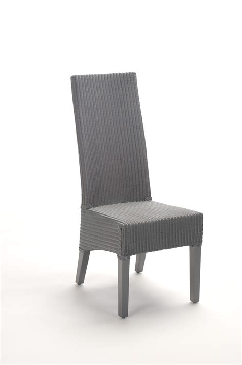 chaise dossier haut chaise haut dossier en loom brin d 39 ouest