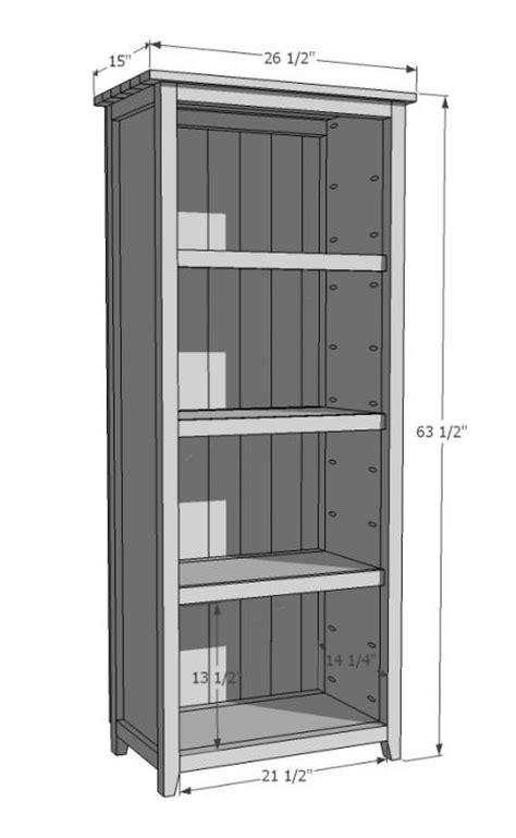 Ana White  Build A Kentwood Bookshelf  Free And Easy Diy
