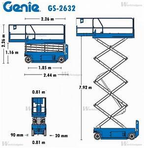 Genie GS-2632 - Genie - Machinery Specifications