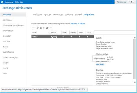 Exchange Server Migration Resume by Migration Batch In Exchange Server 2016 171 Msexchangeguru