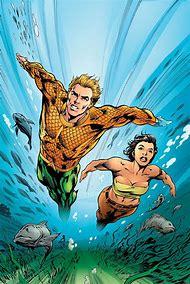 DC Comics Aquaman and Aqua Girl