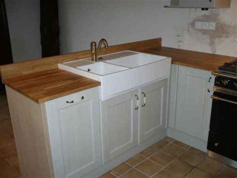 changer le plan de travail d une cuisine plan de travail bois cuisine douillet