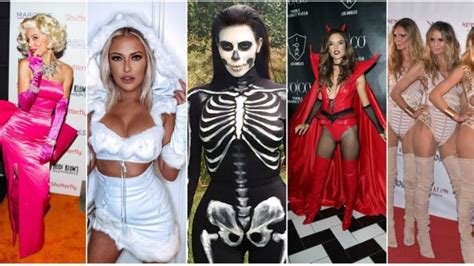 Celebrity Moms Looking Sexy In Halloween Costumes The Frisky