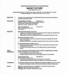 14 resume templates for freshers pdf doc free With engineering resume format pdf