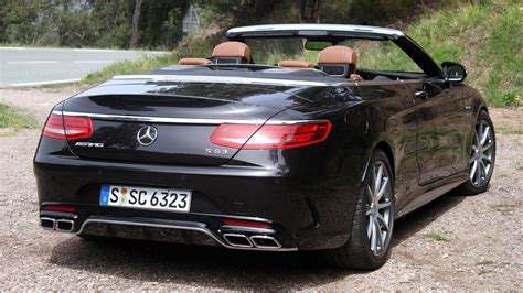 Amg S63 Cabriolet by Drive 2017 Mercedes Amg S63 Cabriolet