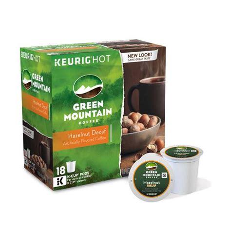 Keurig coffee cups and creamers and coffee. Green Mountain Coffee Hazelnut Decaf K-Cups - 120242 | Blain's Farm & Fleet