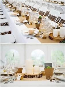 Table Mariage Champetre : d coration de table mariage champ tre chic id e mariage ~ Melissatoandfro.com Idées de Décoration