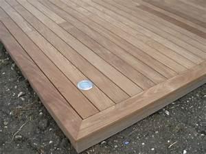 Eclairage Terrasse Bois : lame de terrasse en afrormosia premi re qualit largeur ~ Melissatoandfro.com Idées de Décoration