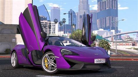 Mclaren 720s Spider Modification by Gta 5 2015 Mclaren 570s Add On Replace 1 2 1 Mod
