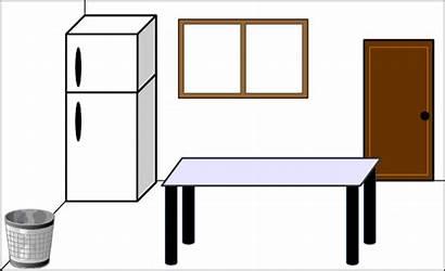 Kitchen Clipart Clip Cliparts Counter Vector Svg