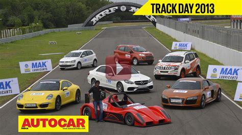 mega track test indias  drivers cars  video