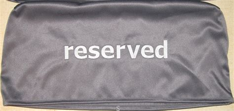 reserved seat covers curtains for you