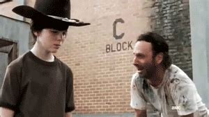 Rick Grimes Crying Meme - rick grimes gif find share on giphy