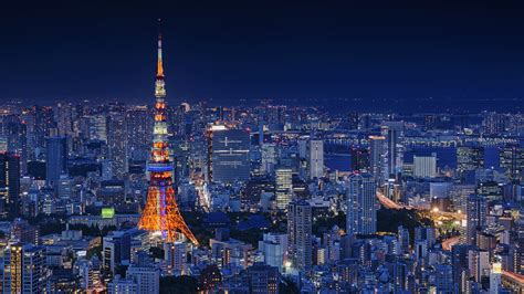 tokyo tower japan  wallpapers hd wallpapers id