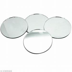 Miroir Rond 50 Cm : miroir rond 50 mm x4 miroir autocollant rond creavea ~ Dailycaller-alerts.com Idées de Décoration