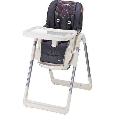 chaise haute bébé confort kaleo chaise haute kaleo aristo black 40 sur allobébé