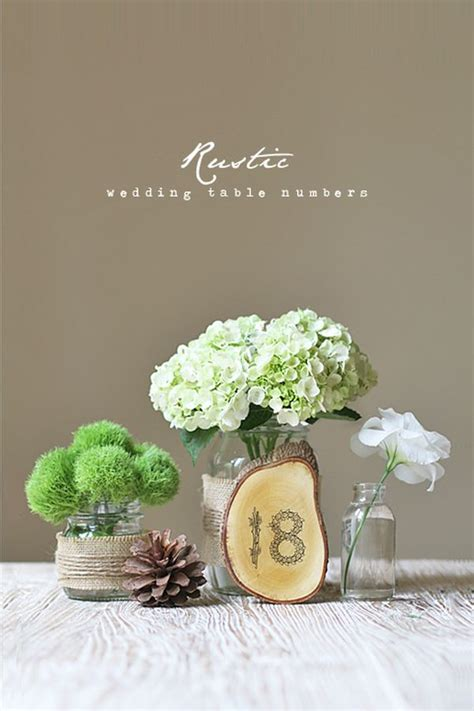wedding table number ideas diy wedding reception centerpiece ideas