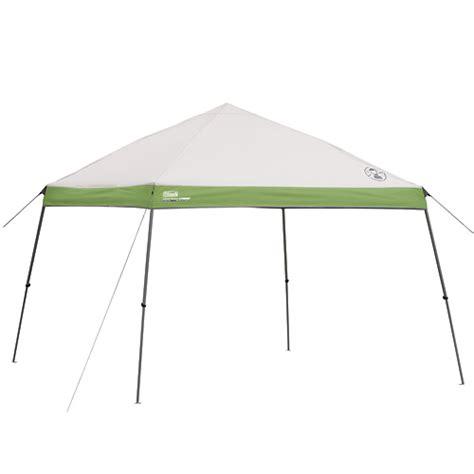 coleman 12x12 canopy coleman portable canopy shelter 12 x 12 slant