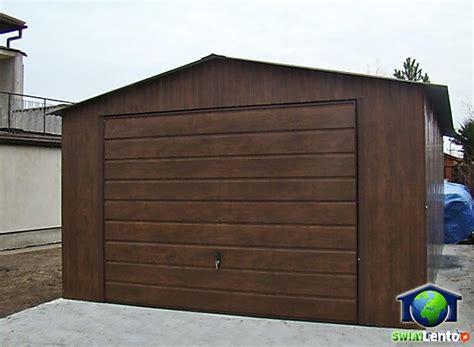 sonnensegel 6 x 4 garaże blaszane 4x6 orzech blaszaki drewnopodobne katowice