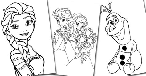 Frozen Coloring Pages Pdf Costumepartyrun