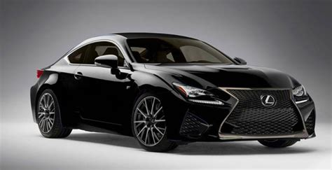 lexus black lexus rc f in black