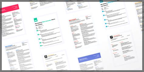 Resume Profile Generator by Cv Templates Bypeople 36 Submissions