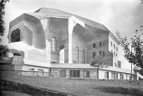 Rudolf Steiner Architektur by Rudolf Steiner S Second Goetheanum Largest German
