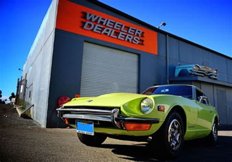 Wheeler Dealers California Workshop Location wheeler dealers