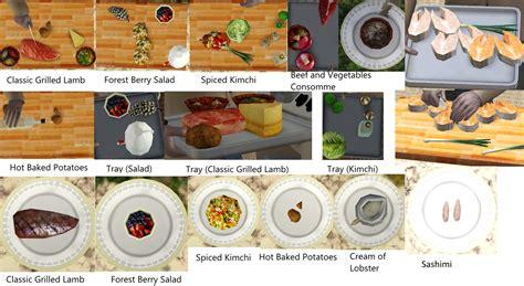 ea cuisine mod the sims update 3 6 2015 ea meshes as custom