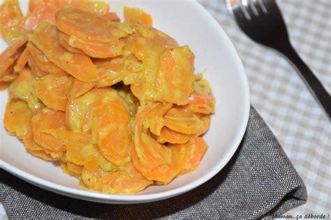 comment cuisiner du chou curry de carottes au lait de coco par maman ça déborde