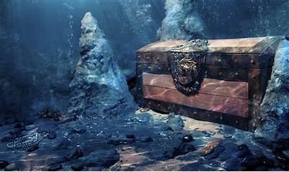Treasure Underwater Hunt Geocaching Water Scuba Dingin