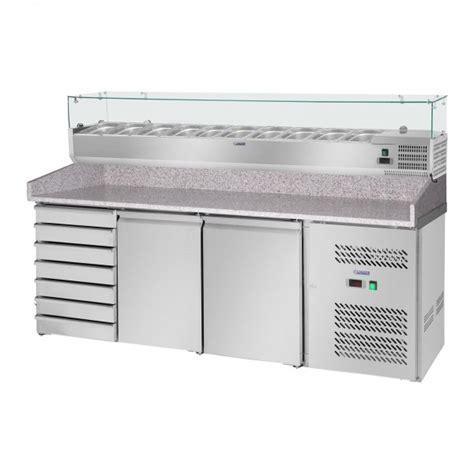 banco per pizza banco per pizza con vetrina refrigerata 702 l piano di