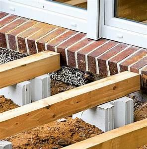 Bauanleitung Holzterrasse Selber Bauen Die Unterkonstruktion : holzterrasse unterkonstruktion holzterrasse bild 2 ~ Sanjose-hotels-ca.com Haus und Dekorationen