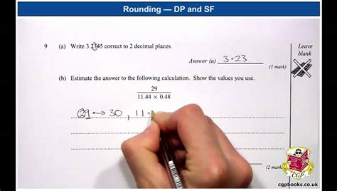 Rounding 3 — Decimal Places And Significant Figures (exam Question) Youtube
