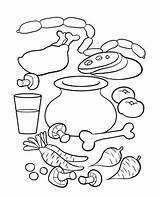 Soup Stone Coloring Preschool Crafts Activities Arts Worksheet Written Kolorowanki Craft Worksheets sketch template