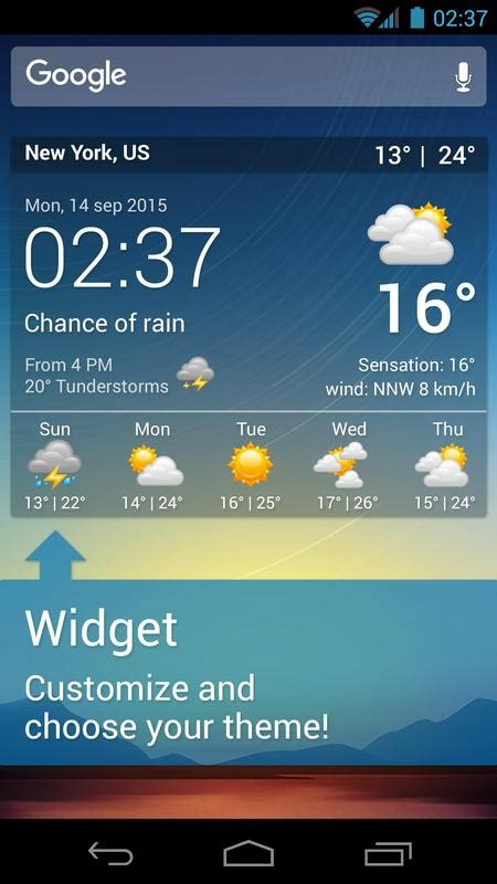 weather android app apk xl pro widgets apps widget google apkpure play consume lightweight battery less