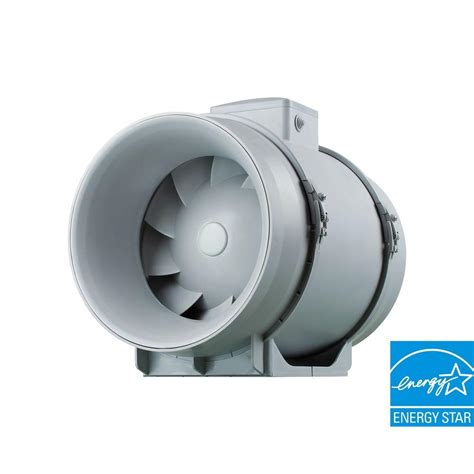 inductor 8 in in line duct booster fan db208 the home depot