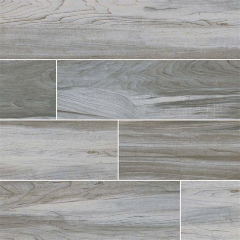 Carolina Timber White 6x24 Ceramic Woodlook Tile