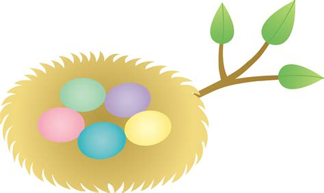 Pencil And In Color Nest Clipart