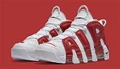 Nike Uptempo White Red Scottie Pippen | Sole Collector