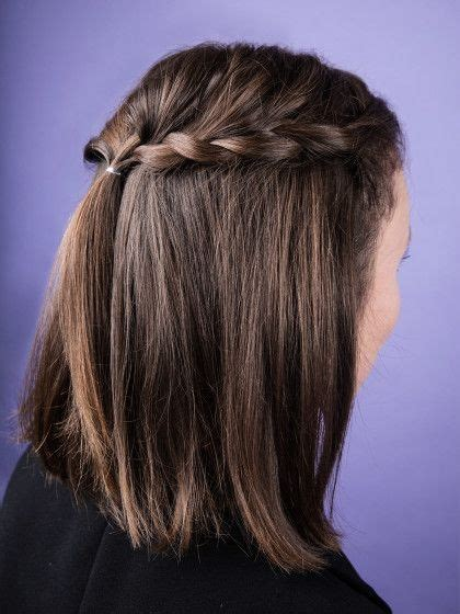 schoene schnelle frisuren fuer schulterlange haare