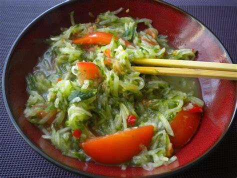 cuisine laotienne plats laotiens tam mak tèng recette du laos cuisinons vite et bon